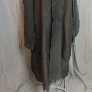 Lanvin Jackets & Coats - Pre-owned Lavin Men's Silk and Cotton Jacket Black